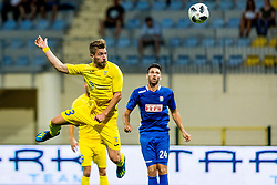 Dario Melnjak of NK Domzale during 2nd leg football match between NK Domzale and NK Siroki Brijeg in 1st Qualifying round of UEFA Europa League, on July 19, 2018 in Domzale Sports Park, Domzale, Slovenia. Photo by Ziga Zupan / Sportida