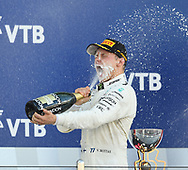Valtteri Bottas of Mercedes AMG Petronas celebrates winning the Russian Formula One Grand Prix at Sochi Autodrom, Sochi, Russia.<br /> Picture by EXPA Pictures/Focus Images Ltd 07814482222<br /> 30/04/2017<br /> *** UK & IRELAND ONLY ***<br /> <br /> EXPA-EIB-170430-0229.jpg