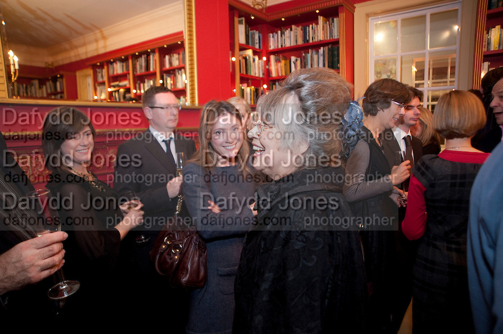 JANE WILSON; LOUISE WILSON; CHRISTIANE KUBRICK, Stanley Kubrick's Napoleon. The Greatet Movie Never Made. Book launch.  Published by Taschen. Launch held at Kubrick's family home Childwickbury House. Harpenden. 8 December 2009