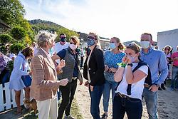 ARNS-KROGMANN Christine (Pferdebesitzer), WINTER-SCHULZE Madeleine (Mäzenin)<br /> Impressionen am Rande<br /> Longines Großer Optimum Preis <br /> präsentiert von das Meggle GmbH & Co. KG<br /> Nat. Dressurprüfung Kl. S**** - Grand Prix Kür <br /> Finale Deutsche Meisterschaften<br /> Balve Optimum - Deutsche Meisterschaft Dressur 2020<br /> 20. September2020<br /> © www.sportfotos-lafrentz.de/Stefan Lafrentz