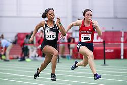 womens 60 meter final, Brown, Zion Lewis<br /> BU John Terrier Classic <br /> Indoor Track & Field Meet