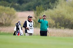 29.06.2014, Golf Club Gut Laerchenhof, Pulheim, GER, BMW International Golf Open, im Bild Fabrizio Zanotti (PAR) schlaegt aus dem Rough // during the International BMW Golf Open at the Golf Club Gut Laerchenhof in Pulheim, Germany on 2014/06/29. EXPA Pictures © 2014, PhotoCredit: EXPA/ Eibner-Pressefoto/ Kolbert<br /> <br /> *****ATTENTION - OUT of GER*****