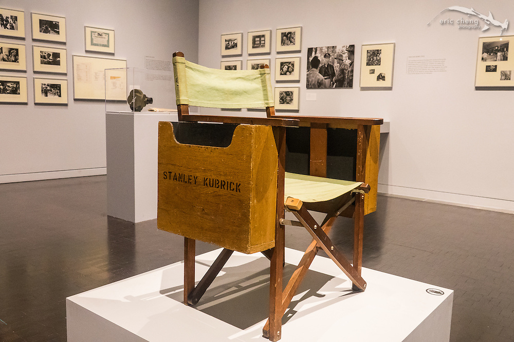 Stanley Kubrick director's chair