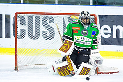 28.11.2014, Hala Tivoli, Ljubljana, SLO, EBEL, HDD Telemach Olimpija Ljubljana vs EC KAC, 22. Runde, in picture Andy Chiodo (HDD Telemach Olimpija, #40) during the Erste Bank Icehockey League 22. Round between HDD Telemach Olimpija Ljubljana and EC KAC at the Hala Tivoli, Ljubljana, Slovenia on 2014/11/28. Photo by Morgan Kristan / Sportida