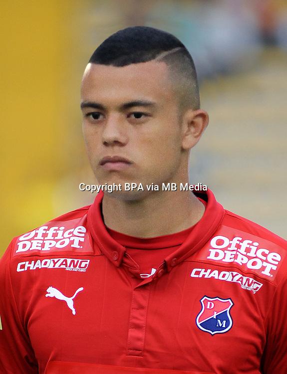 Colombia League - Liga Aguila 2015-2016 - <br /> Deportivo Independiente Medellin - Colombia / <br /> Leonardo Fabio Castro Loaiza