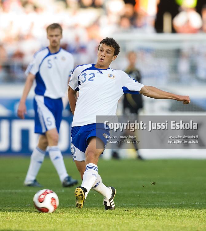 Roman Eremenko. Suomi-Belgia 6.6.2007. Helsinki, Olympiastadion. EM-karsinta. Photo: Jussi Eskola