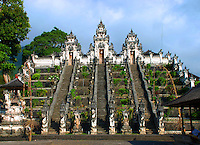 Magnificent Lempuyang temple in Bali, Indonesia.