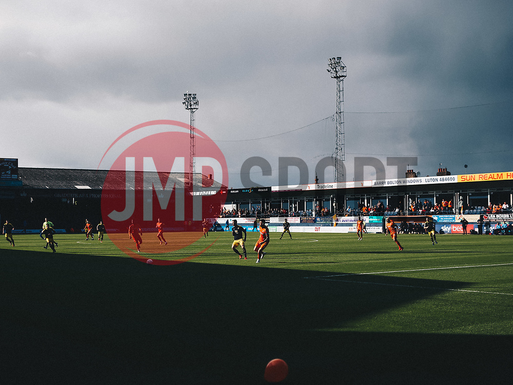 Luton Town celebrate securing automatic promotion from Sky Bet League 1 to the Sky Bet Championship - Rogan/JMP - 04/05/2019 - Kenilworth Road - Luton, England - Luton Town v Oxford United - Sky Bet League One.