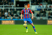 Martin Kelly (#34) of Crystal Palace on the ball during the Premier League match between Newcastle United and Crystal Palace at St. James's Park, Newcastle, England on 21 December 2019.