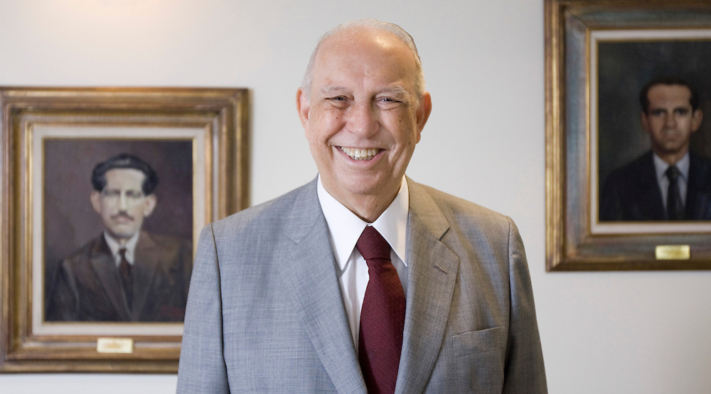 Belo Horizonte _ MG, 21 Dezembro de 2007...Retrato do vice presidente da republica Jose de Alencar, em Belo Horizonte,  na sede da empresa Coteminas...FOTO: BRUNO MAGALHAES / AGENCIA NITRO