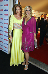 Left to right, TRINNY WOODALL and TANIA BRYER at the 2006 Glamour Women of the Year Awards 2006 held in Berkeley Square Gardens, London W1 on 6th June 2006.<br /><br />NON EXCLUSIVE - WORLD RIGHTS