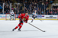 KELOWNA, BC - MARCH 02:  Seth Jarvis #24 of the Portland Winterhawks skates against the Kelowna Rockets  at Prospera Place on March 2, 2019 in Kelowna, Canada. (Photo by Marissa Baecker/Getty Images)
