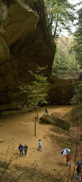 Old Man's Cave, Ash Cave, Rock House, Cedar Falls