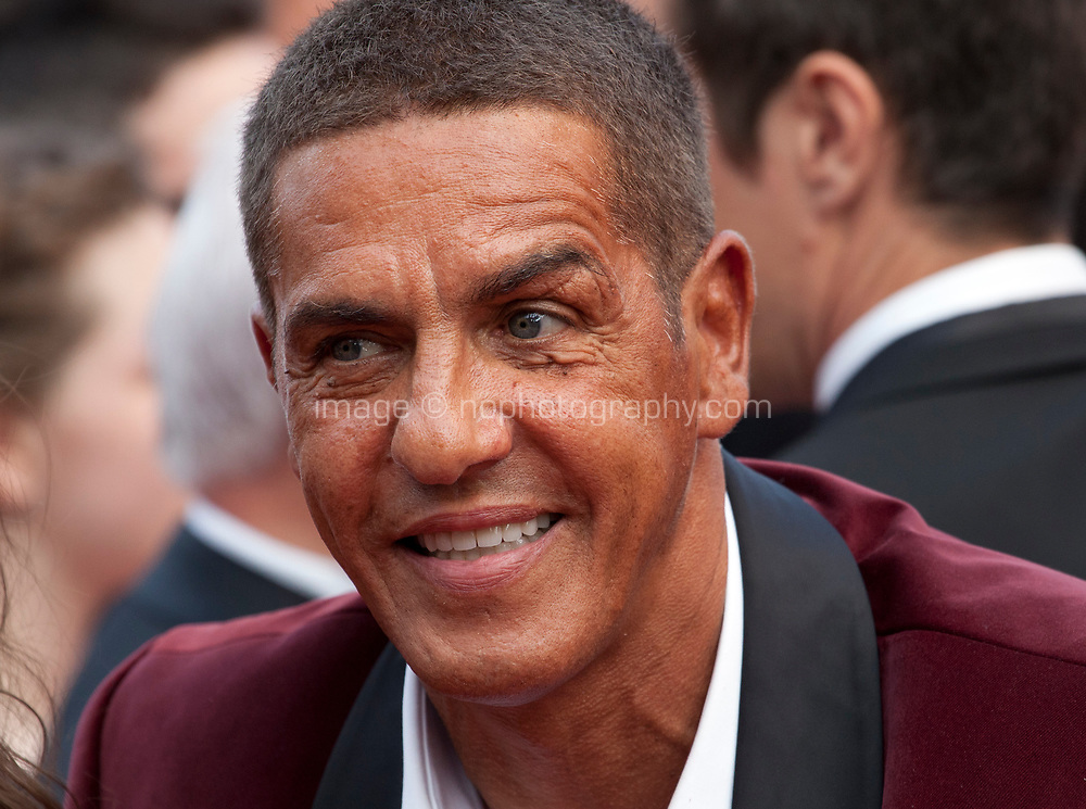 Samy Naceri at Twin Peaks gala screening at the 70th Cannes Film Festival Thursday 25th May 2017, Cannes, France. Photo credit: Doreen Kennedy