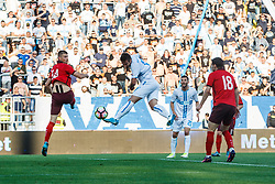 Mario Gavranovic #17 of HNK Rijeka during football match between HNK Rijeka and HNK Cibala in Round #35 of 1st HNL League 2016/17, on May 21st, 2017 in Rujevica stadium, Rijeka, Croatia. Photo by Grega Valancic / Sportida