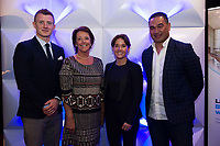 11/05/2017 Pictured at the Bord G&aacute;is Energy Leadership, Building a Winning Team, business conference at The Clayton Hotel, Galway were  Galway Senior Hurler and All-Star, Joe Canning,  Bernie Butler, Good4u with  Katie Walsh, one of the leading Irish amateur riders, Connacht Head Coach, Pat Lam, <br /> <br />  Lam, Canning and Walsh all took part in a panel discussion on Creating a winning culture and what it takes that inspired the almost 150 business attendees.  <br /> <br /> The line-up of expert speakers also included motivational expert Pat Divilly, Director of Executive Education at the Irish Management Institute, Dr Colm Foster and Stewart Dunne, partner at BDO. <br /> <br /> For further information please see http://www.bgebusinesshub.ie/event/leadership<br /> .   Photo:Andrew Downes, xposure