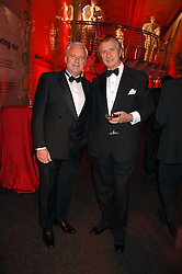 Left to right, BERNARD FORNAS President and CEO Cartier International and ARNAUD BAMBERGER MD of Cartier UK at a dinner held at the Natural History Museum to celebrate the re-opening of their store at 175-177 New Bond Street, London on 17th October 2007.<br />