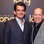 NLD/Gouda/20151207 - Premiere Robert Long, Maurice Wijnen en partner Ronald den Ouden