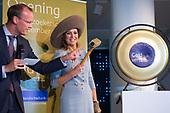 Koningin Maxima opent nieuw Bezoekerscentrum DNB