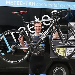 03-02-2017: Wielrennen: Teampresentatie Metec: Arnhem<br />ARNHEM (NED) wielrennen<br />In Arnhem werd het Metec-TKH-powerd by Mantel continental team gepresenteerd. Dennis van der Horst (Hasselt) maakt de overstap naar de beloften in deze ploeg