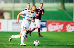 Tadej Vidmajer of Celje during football match between NK Triglav and NK Celje in 7th Round of Prva liga Telekom Slovenije 2019/20, on August 25, 2019 in Sports park, Kranj, Slovenia. Photo by Vid Ponikvar / Sportida