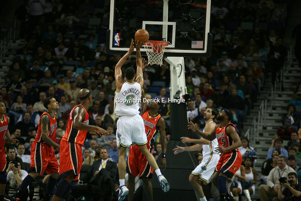 The New Orleans Hornets ten game win streak was snapped on Wednesday January 30, 2008 when the Golden State Warriors defeated the Hornets 116-103 dropping the Hornets record to 32-13.
