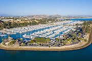 Aerial View of Dana Point Harbor