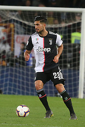 May 12, 2019 - Rome, Lazio, Italy - Roma, Lazio, Italy, 12-05-19, Italian football match between As Roma - Juventus at the Olimpico Stadium in picture Emre Can midfielder of Juventus , the final score is  0-2 for As Roma  (Credit Image: © Antonio Balasco/Pacific Press via ZUMA Wire)