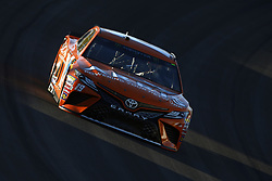 September 14, 2018 - Las Vegas, Nevada, United States of America - Daniel Suarez (19) brings his car through the turns during qualifying for the South Point 400 at Las Vegas Motor Speedway in Las Vegas, Nevada. (Credit Image: © Chris Owens Asp Inc/ASP via ZUMA Wire)