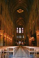 Notre Dame inside nave