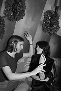 BELLA FREUD, Nick Cave and the Bad Seeds with The Vampire's Wife and Matchesfashion.com party to celebrate the end of their 2017 World tour. Lou lou's. Hertford St. Mayfair.