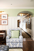 Beautifully decorated sitting areas are scattered throughout the Carolina Inn.  Along the halls are historic photos of the Inn.