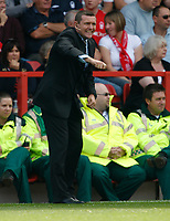 Photo: Steve Bond/Richard Lane Photography.<br />Nottingham Forest v Watford. Coca-Cola Football League Championship. 23/08/2008. Watford manager Aidy Boothroyd on the touchline