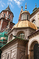 The Wawel Cathedral, also known as the Cathedral Basilica of Sts. Stanis?aw and Vaclav in Krakow, Poland