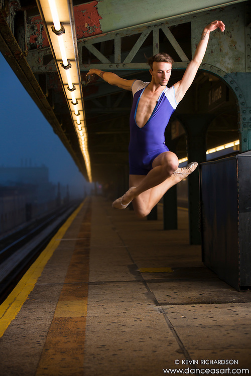 Andy Jacobs New York City Subway Dance As Art Photography