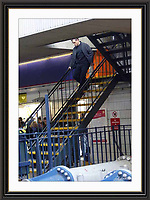 MATT DAMON  THE BOURNE ULTIMATUM OCT 2006 LONDON WATERLOO STATION .CAMERAS ROLLING, A2 Museum-quality Archival signed Framed Print (Limited Edition of 25)