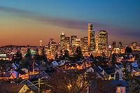 Seattle Skyline from Beacon Hill