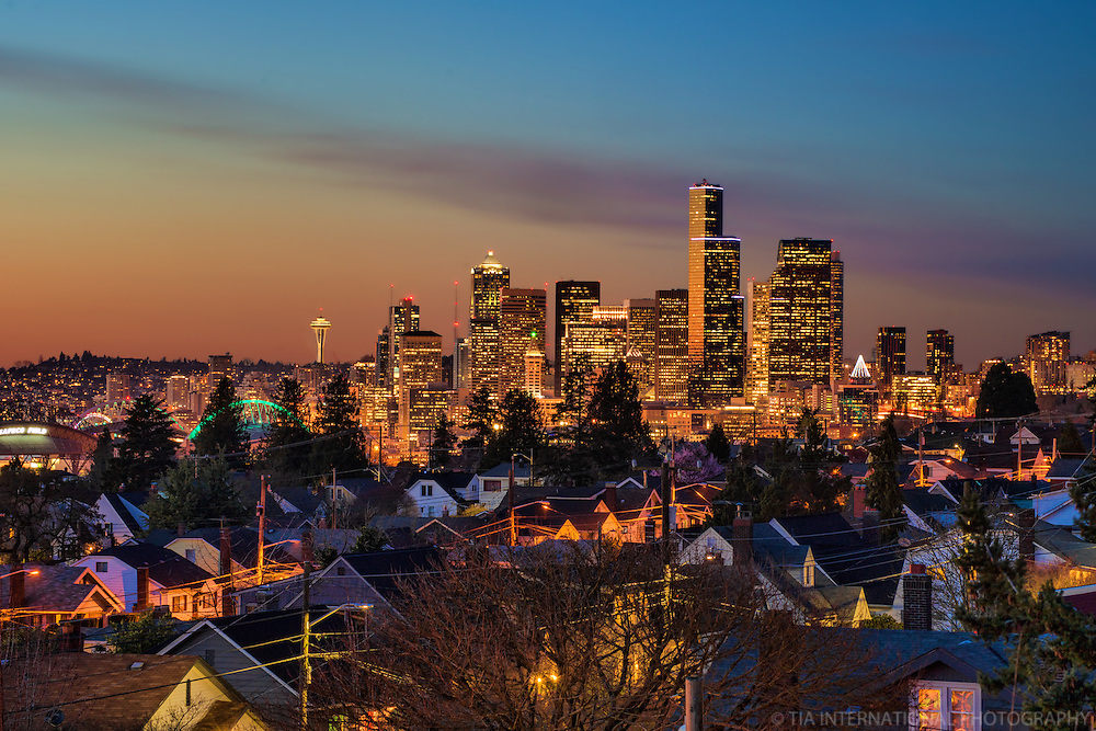 Seattle Skyline from Beacon Hill