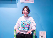 My Mum's a Twat <br /> By Anoushka Warden <br /> Directed by Vicky Featherstone and Jude Christian <br /> At The Royal Court Theatre, London, Great Britain <br /> Press photocall <br /> 9th January 2018 <br /> <br /> Patsy Ferran <br /> <br /> <br /> <br /> Photograph by Elliott Franks