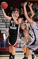 January 5, 2012: The Southern Nazarene University Crimson Storm play against the Oklahoma Christian University Lady Eagles at the Eagles Nest on the campus of Oklahoma Christian University.