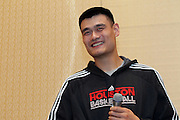 An event featuring Yao Ming in Beijing.