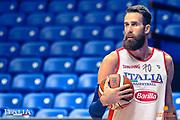 Luigi Datome<br /> Nazionale Italiana Maschile Senior<br /> Eurobasket 2017 - Group Phase<br /> Allenamento<br /> FIP 2017<br /> Tel Aviv, 31/08/2017<br /> Foto Ciamillo - Castoria/ M.Longo