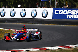September 2, 2018 - Portland, Oregon, United Stated - MATHEUS LEIST (4) of Brazil battles for position during the Portland International Raceway at Portland International Raceway in Portland, Oregon. (Credit Image: © Justin R. Noe Asp Inc/ASP via ZUMA Wire)