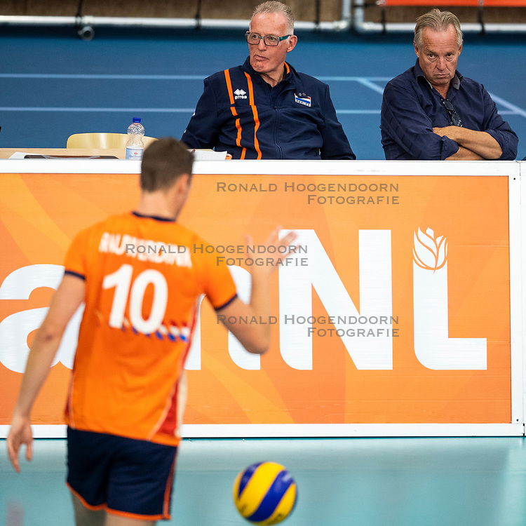 08-09-2018 NED: Portrait of Joop Alberda, Ede<br /> Joop Alberda returns to the volleyball association for four months. The 66-year-old former success coach of the men will take over from September 1 to January 1.