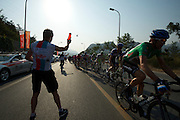 Feed station near Men TOU GOU - 2011 Tour of Beijing Stage 2