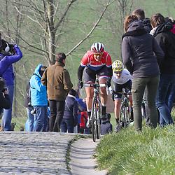 27-02-2016: Wielrennen: Omloop Nieuwsblad vrouwen: Gent<br />GENT (BEL) wielrennen<br />De opening van het Noord Europese wielerseizoen is traditioneel de opening van het wielerseizoen bij de mannen en vrouwen. Lucinda Brand