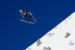March 23, 2019 - Planica, Slovenia - Simon Ammann of Switzerland in action during the team competition at Planica FIS Ski Jumping World Cup finals  on March 23, 2019 in Planica, Slovenia. (Credit Image: © Rok Rakun/Pacific Press via ZUMA Wire)