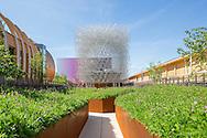 British pavilion Expo 20015 Milan. Designer Wolfgang Buttress
