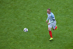 LENS, FRANCE - Thursday, June 16, 2016: England's Wayne Rooney during the UEFA Euro 2016 Championship Group B match against Wales at the Stade Bollaert-Delelis. (Pic by Paul Greenwood/Propaganda)