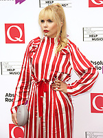 Paloma Faith, The Q Awards 2017 - Red Carpet Arrivals, Roundhouse, London UK, 18 October 2017, Photo by Brett D. Cove